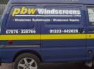PBW Windscreens van